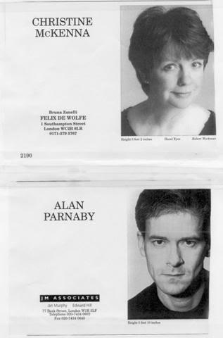 Alan Parnaby and Christine McKenna (mid-1990s)