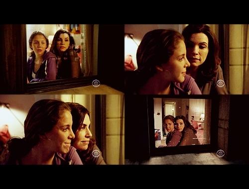 Alicia & Grace Florrick: 1x03 - nyumbani