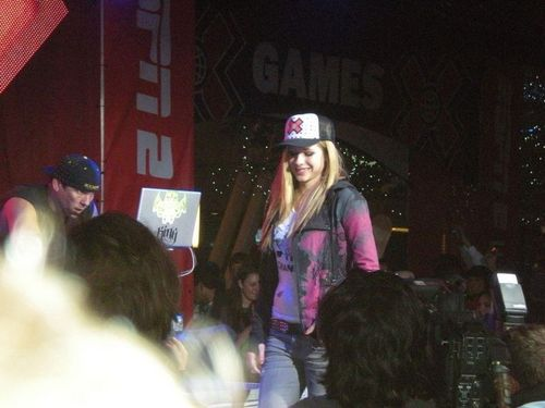 Avril Lavigne - July 30 - X-Games