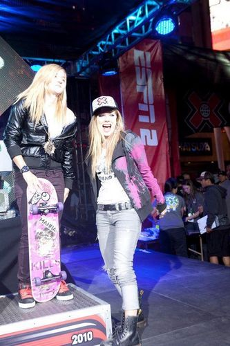 Avril Lavigne - July 30 - X-Games