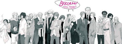 Baccano cast
