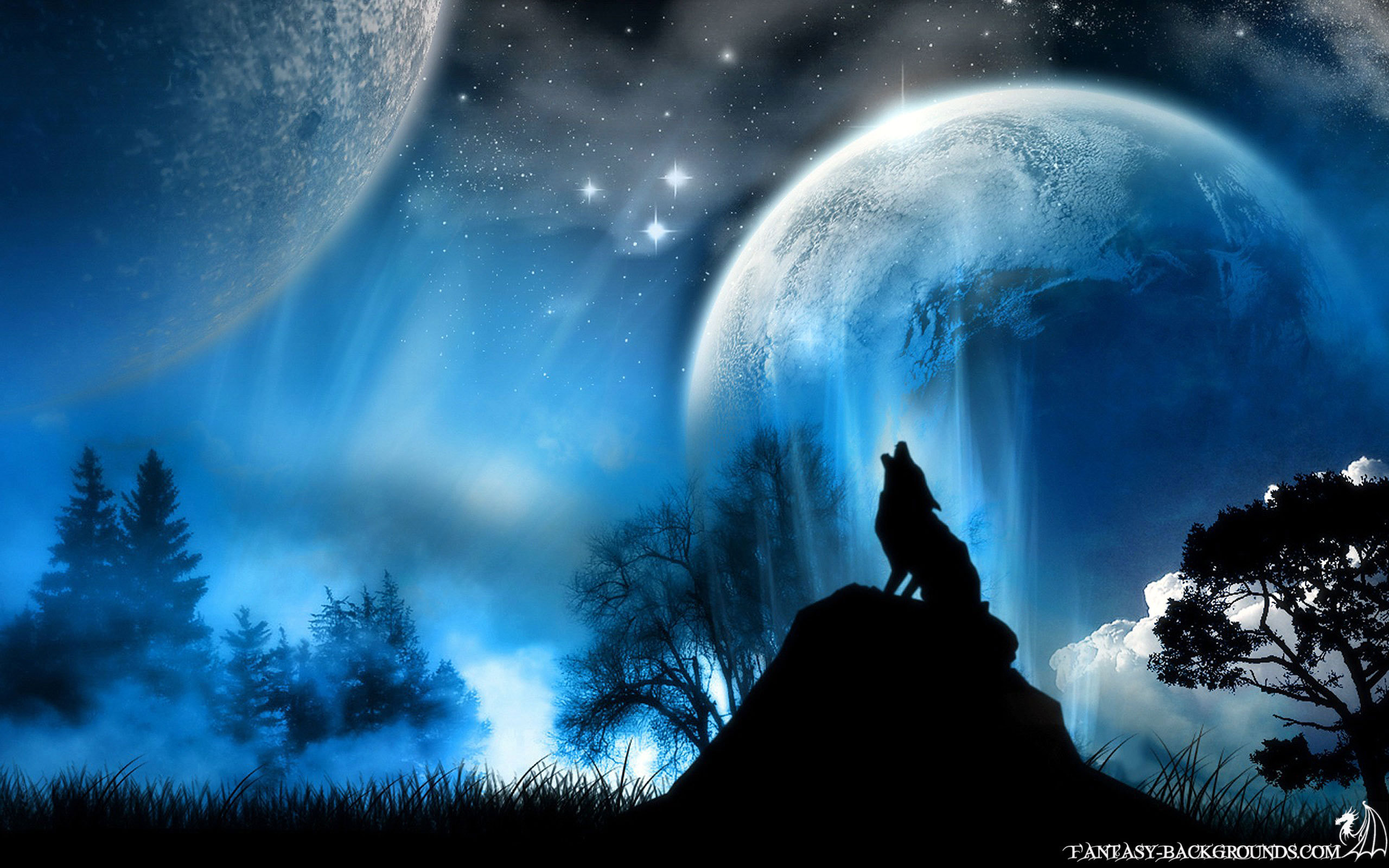 pretty moon wallpapers - photo #4