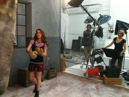 Behind the scenes of third season :D