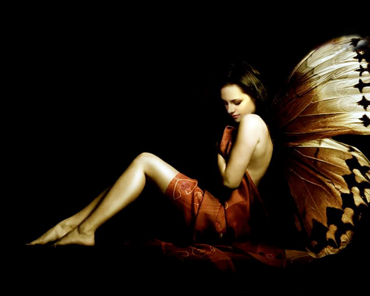 Bella the butterfly - twilight-series wallpaper