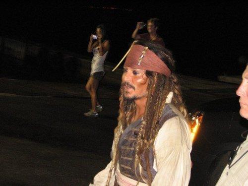 Captain Jack Sparrow!