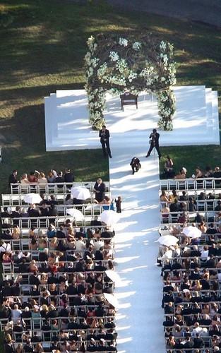 Chelsea Clinton's wedding (July 31)