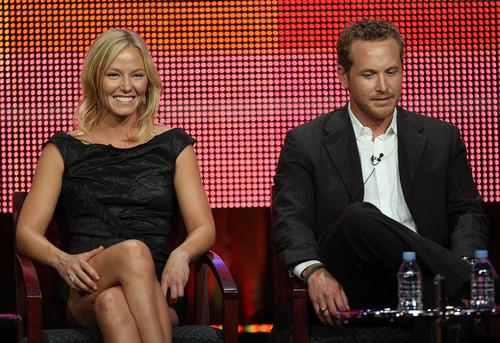 Cole Hauser & Kelli Giddish @ NBC TCA Press Tour 2010