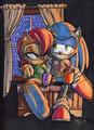 Commission: Sonic and Sally