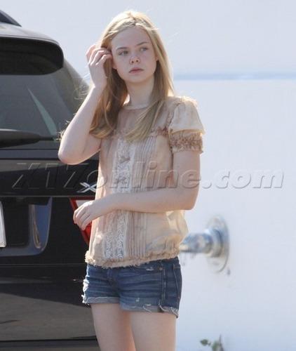 Elle out in LA