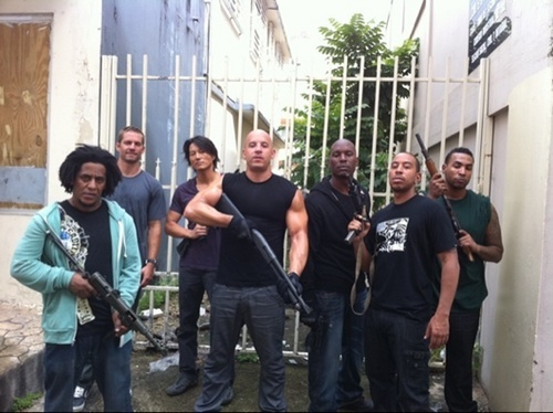 Fast 5 - Cast photo