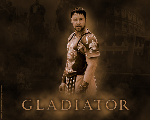 Filem kertas dinding entitled Gladiator