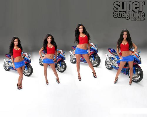HOT & SEXY MOTORCYCLE BABES