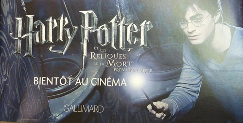 Harry Potter and the Deathly Hallows part 1 promo