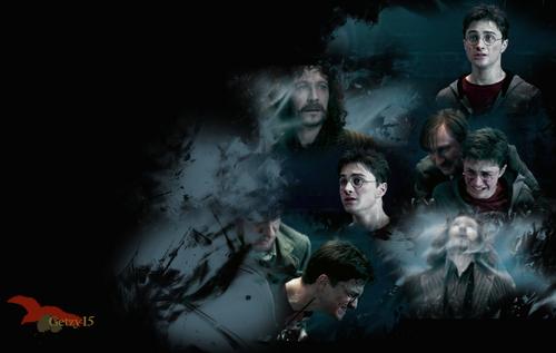 Harry Potter kertas-kertas dinding