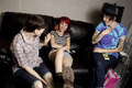 Hayley with Tegan and Sara - paramore photo