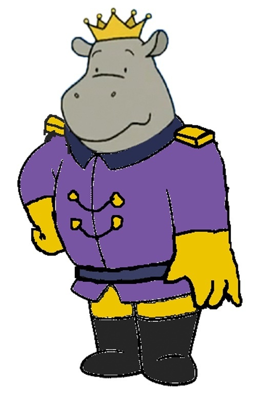 Hippo King Babar The Gajah Fan Art 14307419 Fanpop