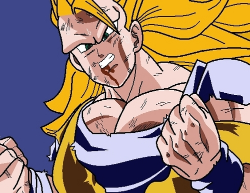 Dragon Ball Z wallpaper called How to draw Goku SSJ3 Step 5