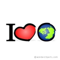 I ♥ Earth - keep-earth-green photo