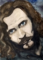 I painted Sirius Black! - sirius-black fan art