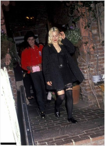 Ivy Restaurant with Madonna