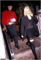 Ivy Restaurant with Madonna - michael-jackson photo