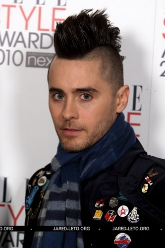 Jared Leto ELLE Style Awards (London, England, Feb.2010)