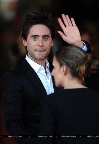 Jared Mr. Nobody Premiere.Venice Red Carpet
