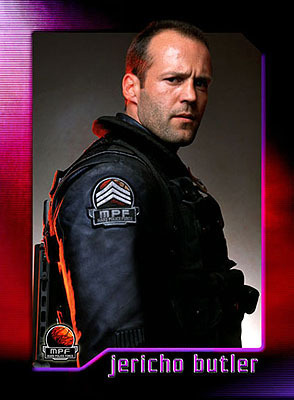 Jason Statham karatasi la kupamba ukuta called Jason in Ghosts of Mars