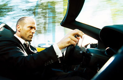 Jason Statham karatasi la kupamba ukuta entitled Jason in The Transporter 2