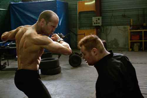 Jason Statham karatasi la kupamba ukuta entitled Jason in The Transporter 3