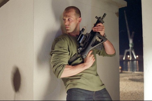 Jason Statham kertas dinding entitled Jason in The Transporter