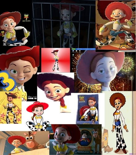 Jessie (Toy Story) wallpaper called Jessie Mash-up