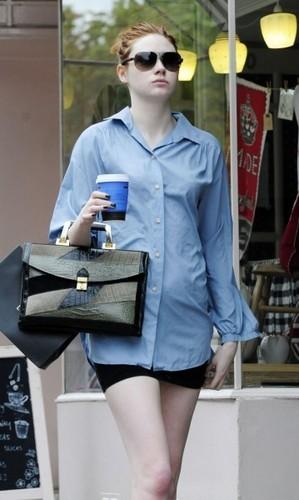 Karen Gillan out in london (July 13)