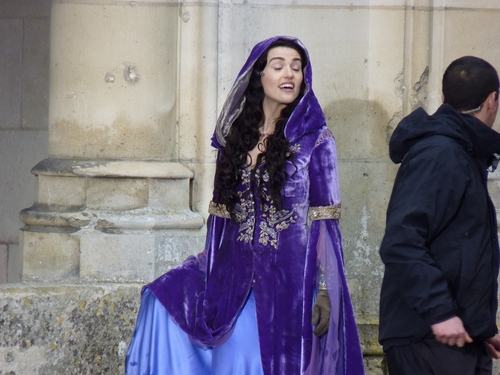 Katie - Merlin On Set  - katie-mcgrath Photo