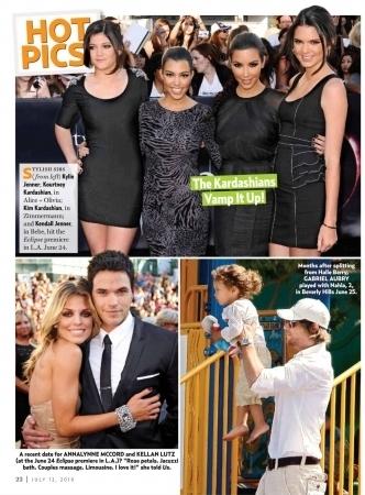 Kellan and Annalynne - 'US Weekly' Scan