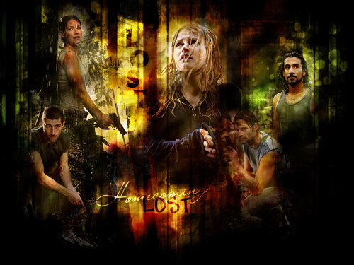 televisi wallpaper called lost