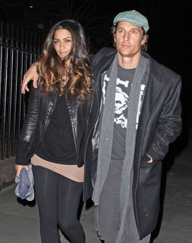 Matthew McConaughey and Camila Alves in NYC (March 3)