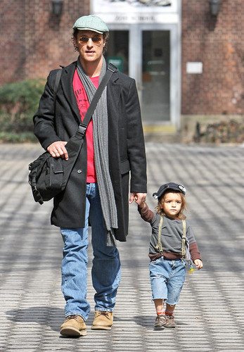 Matthew McConaughey out in NYC (March 3)