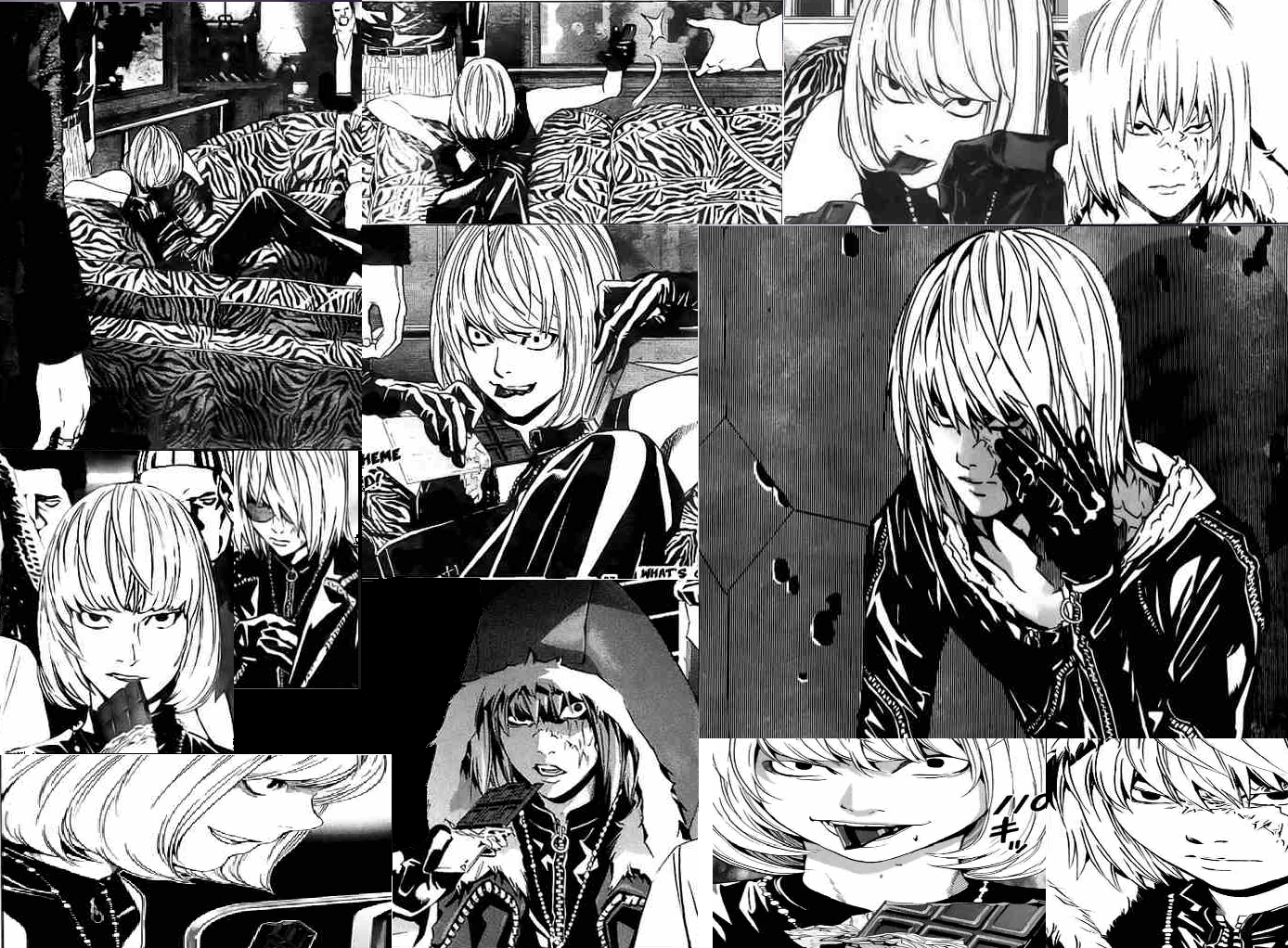 Mello Manga Collage - Mello Fan Art (14351265) - Fanpop