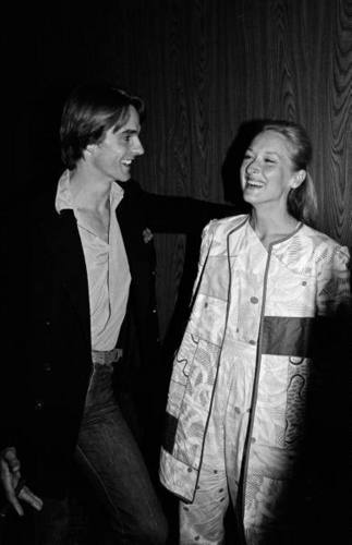 Meryl and Jeremy Irons
