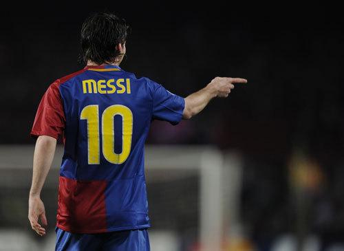 FC Barcelona karatasi la kupamba ukuta titled Messi #10