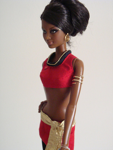 Uhura images Mirror Uhura Barbie wallpaper and background photos