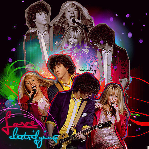 Miley Cyrus and Nick Jonas wallpaper called Niley_Nazanin