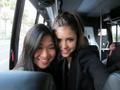 Nina Dobrev and Jenna Ushkowitz at Comic Con Twitpic