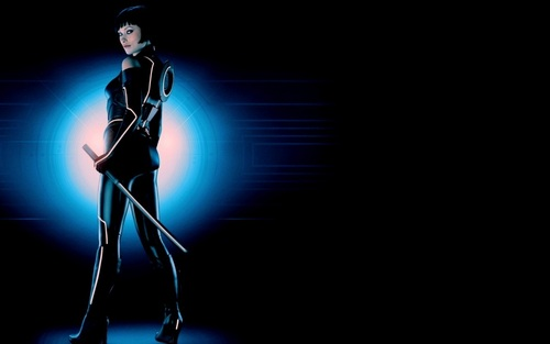 Olivia Wilde as Quorra in 'Tron: Legacy'