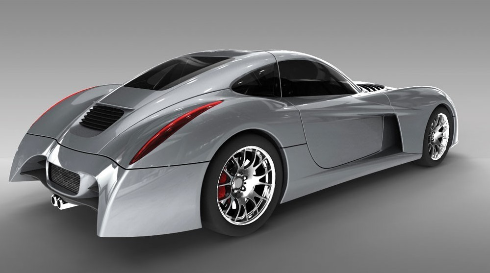 PANOZ ABRUZZI SPORTS CAR
