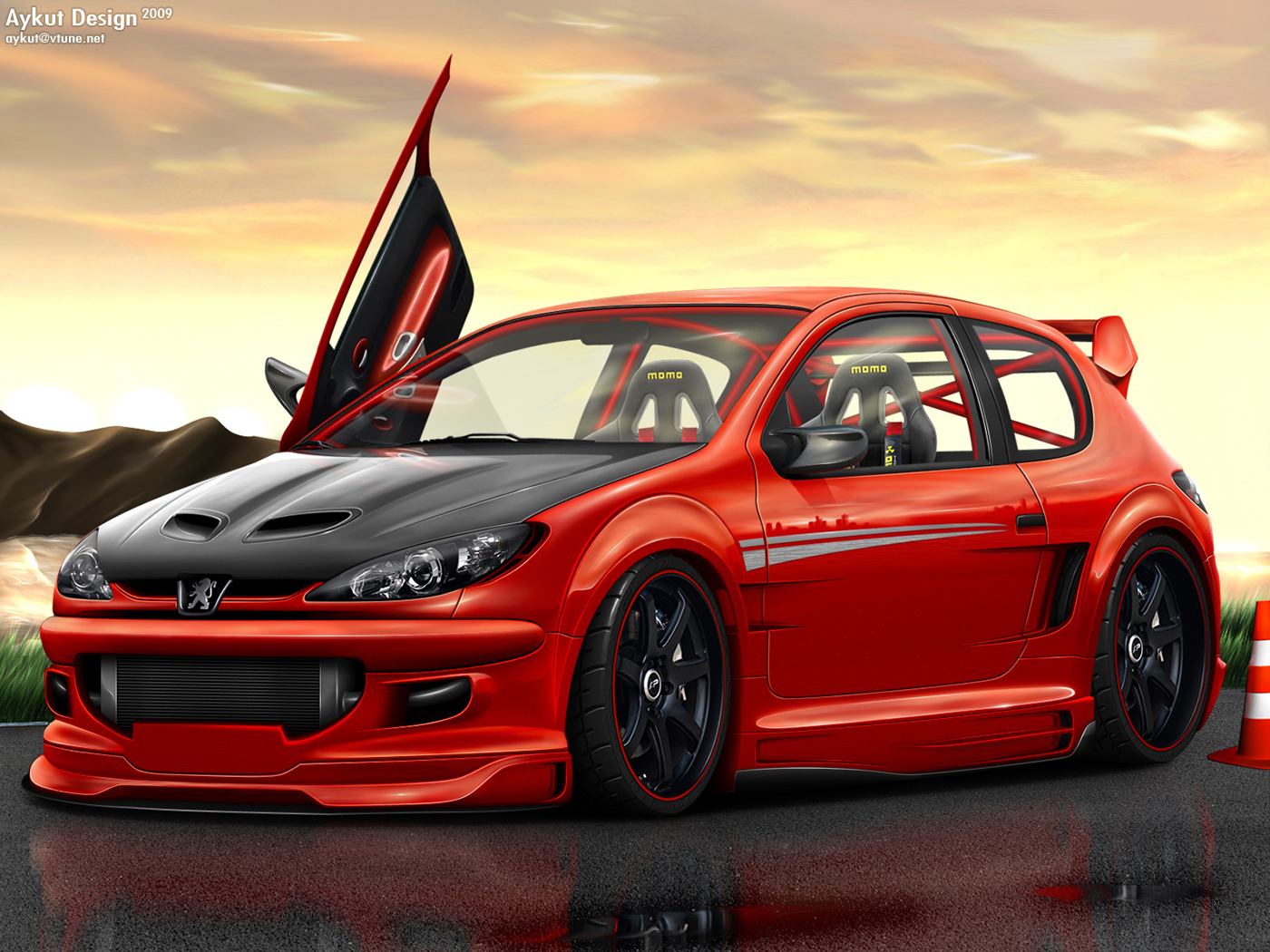 Peugeot Images Peugeot 206 Tuning Hd Wallpaper And