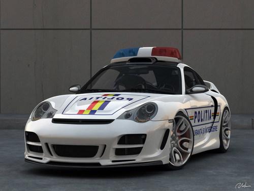 PORSCHE 911 TUNING - POLICE CAR
