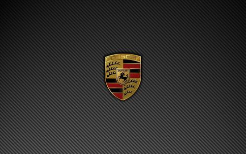 Porsche Wallpaper Entitled PORSCHE LOGO