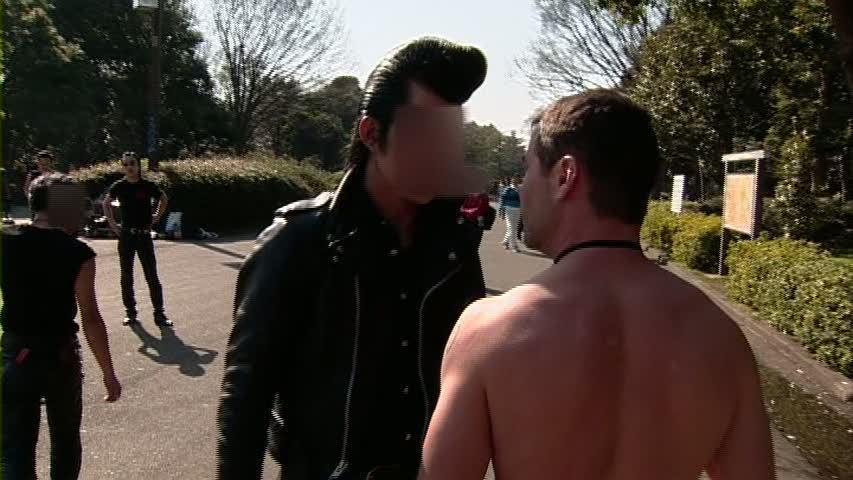 Licking and sucking assholes